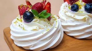 """Пирожное """"Павлова"""" – Вкуснейший мини-десерт!"""