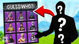 *NEW* GUESS WHO Custom Gamemode in Fortnite Battle Royale!