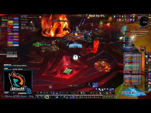Future vs Mythic Aggramar - Frost Mage PoV