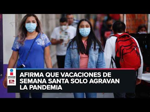 Viene una tercera ola de contagios de covid a México: Experta