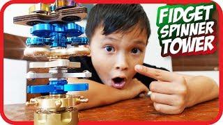 FIDGET SPINNER Tower Spinning, Rare Spinner – TigerBox HD