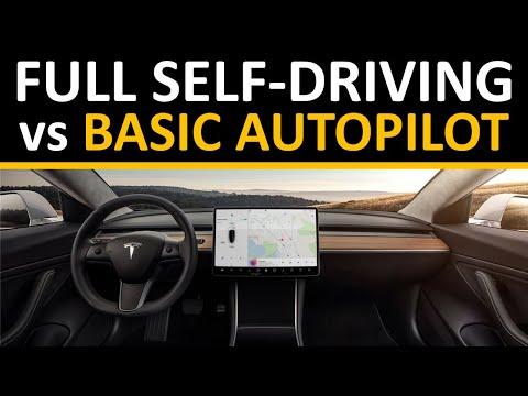 Tesla Full Self Driving vs Basic Autopilot: Is FSD Worth an Extra $8K?
