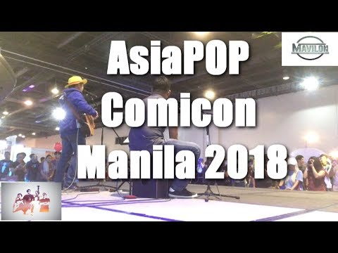 Mavilon at the AsiaPOP Comicon Manila 2018! (Mavlogs- 2nd vlog)