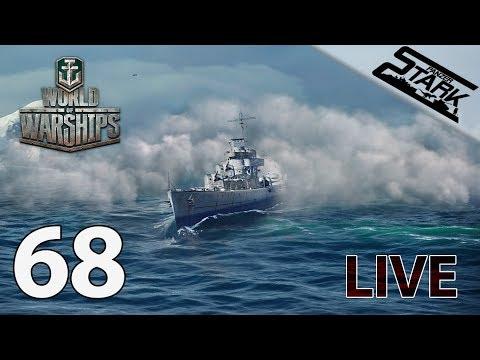 World Of Warships - 68.Rész (Esti rombolózás) - Stark LIVE