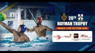26th Hayman Trophy 2017 - 2nd Leg