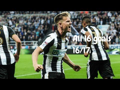 Matt Ritchie | All 16 Goals 16/17