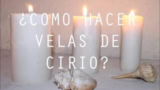 ¿CÓMO HACER VELAS DE CIRIO? KIT PARA HACER VELAS DE CIRIO