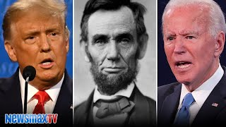 Trump compares himself to Abraham Lincoln | Presidential Debate