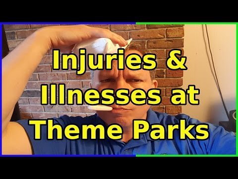 Dealing With Injuries and Illnesses at Theme Parks - Ep 53 Confessions of a Theme Park Worker