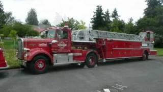Ride around Seattle on 1969 Kenworth-Maxim 100