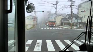 【前面展望】新保~市役所前~岡山駅前【岡電バス・新保線】