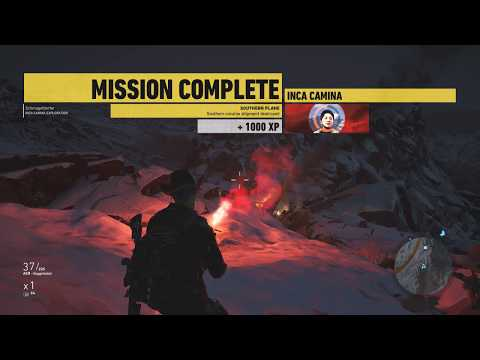 Tom Clancy's Ghost Recon: Wildlands - Peruvian Connection Mission - Southern Plane
