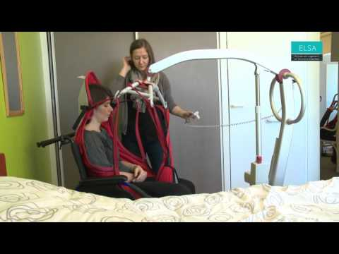 L ve personne pour transfert lit fauteuil birdie compac - Comment faire une toilette au lit d une personne agee ...
