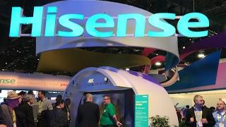 Hisense presenta sus novedades en el CES 2017