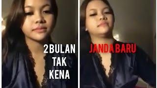 JANDA LIVE BIGO !!! SEMBANG LUC4H - LAME DAH TAK KENA