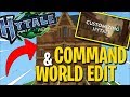 COMMAND & WORLD EDIT - CUSTOM CONTENT in HYTALE - HYTALE NEWS & INFO