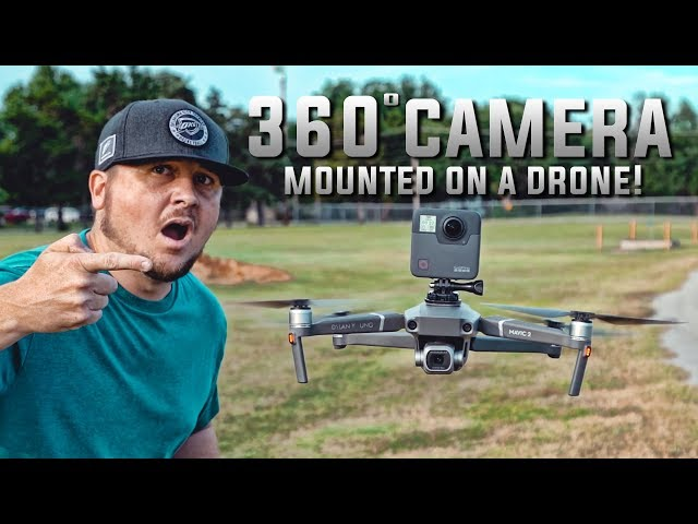 360 Camera MOUNTED ON A DRONE! / AWESOME!