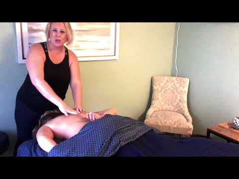 Table Thai Massage Demonstration for Opening Up the Shoulders