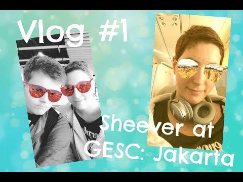 Sheever at GESC: Jakarta - Vlog #1