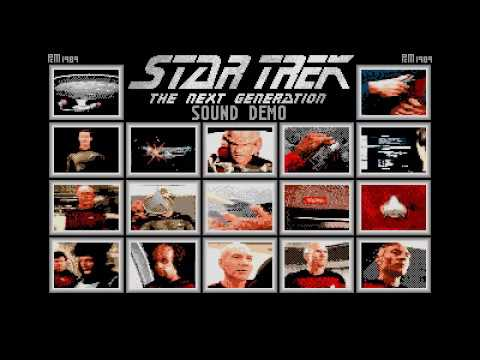 star trek the next generation sound demo for atari st youtube
