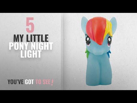 Top 10 My Little Pony Night Light [2018]: My Little Pony Night Light - Rainbow Dash - Soft And