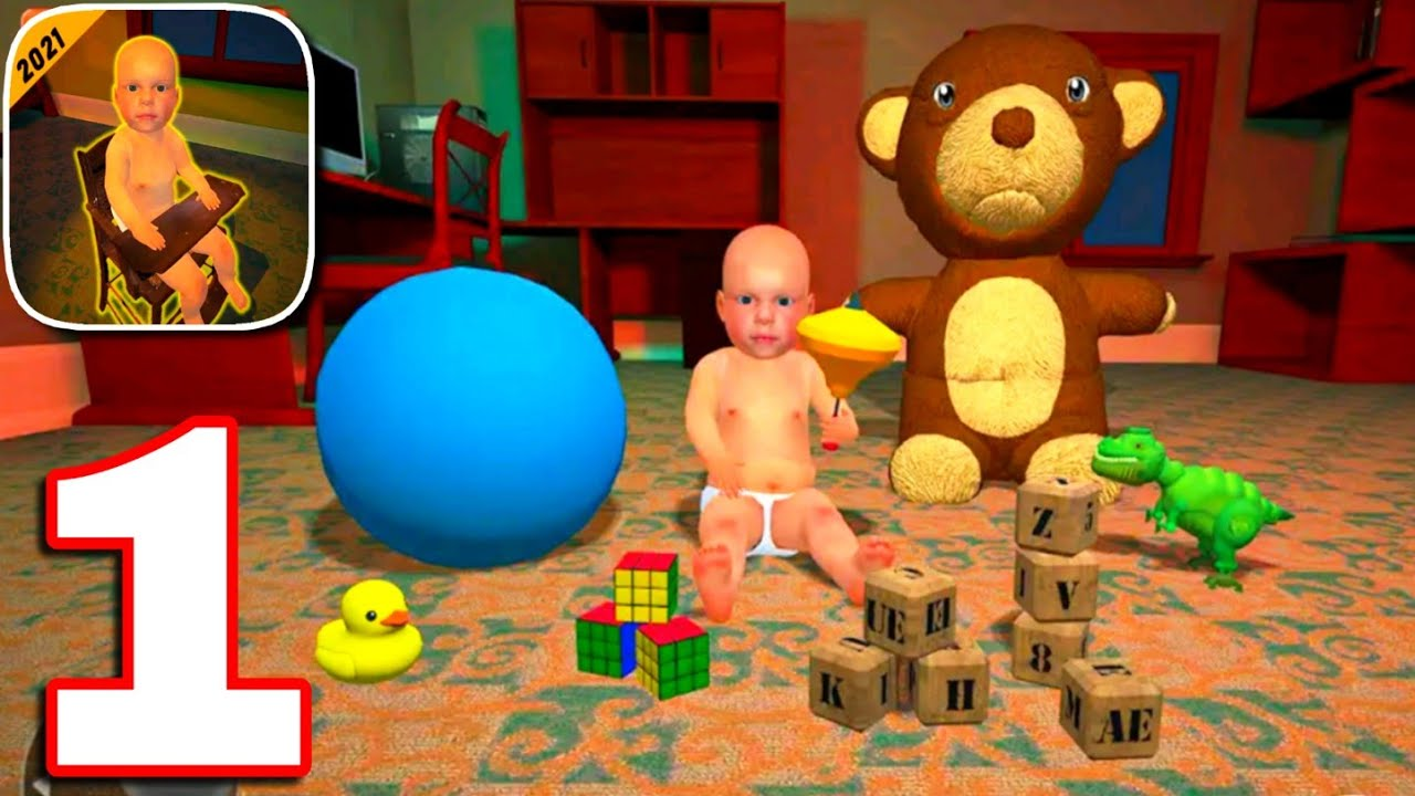 Scary Baby In Yellow 3D : Horror Granny Baby Games Full Gameplay Walkthrough || Level 1 to 10 ||