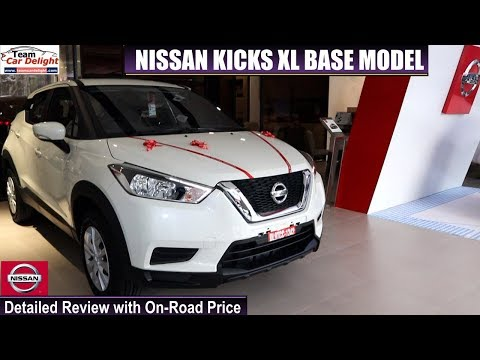 Nissan Kicks Base Model Xl Detailed Review With On Road Price Kicks Xl Youtube