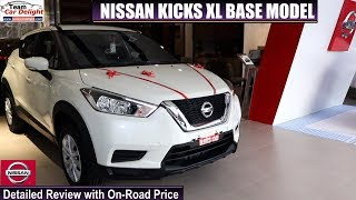 Nissan Kicks Base Model Xl Detailed Review With On Road Price |  Kicks Xl