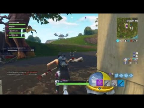 Moisty Mire 'Search Hungry Gnomes' Week 8 Challenge Fortnite