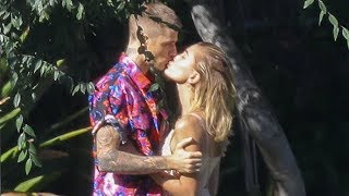 Justin Bieber And Hailey Baldwin Share Sweet Kisses During Photoshoot With Annie Leibovitz!