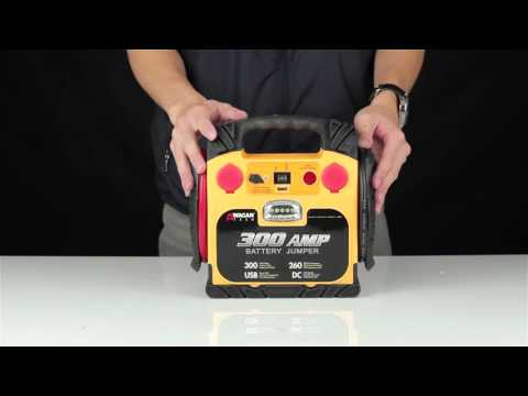 Wagan Tech 300 Amp Battery Jumper (#2467) - Unboxing & Features