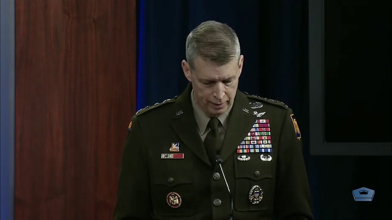 Chief Pentagon spokesperson Explain in Pentagon about the National Guard presence in Washington 2021 - YouTube