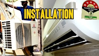 Split Air Conditioner [A/C] INSTALLATION | Mitsubishi [1.5Ton 5 Star SRK 20 CKS-6] | IndianConsumer