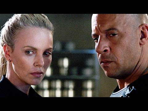 vin diesel makes out with charlize theron fate of the furious trailer youtube. Black Bedroom Furniture Sets. Home Design Ideas