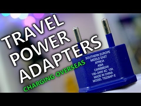 Need a Power Adapter to Charge Your Phone Overseas? Tech Travel Tips!