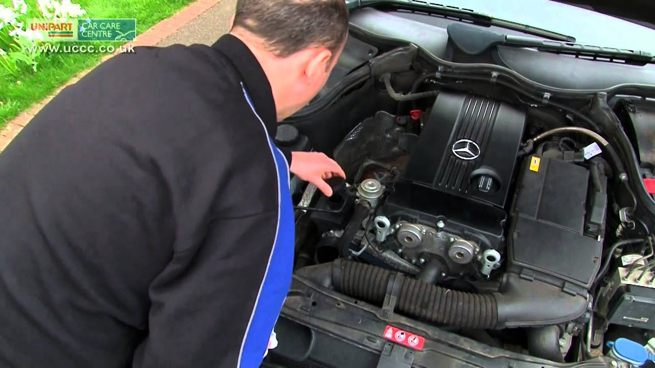 How to top up your power steering fluid level video for Mercedes benz power steering fluid