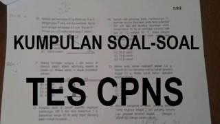 Ini dia Bocoran Soal Tes SKD CPNS 2018, Download di Deskripsi Video