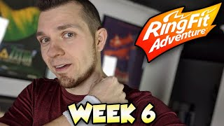 Ring Fit Adventure - WORLD 4: Part 2! 🔴 LIVE with Abdallah!