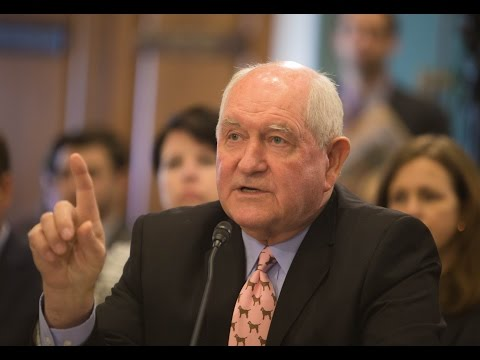 Full Committee – Public Hearing RE: State of the Rural Economy: Secretary Sonny Perdue