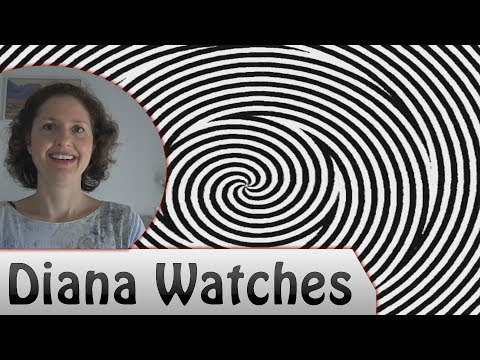 "Mum Watches - ""Optical Illusion - Hypnotic Spiral"""