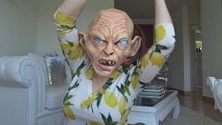GOLLUM Makeup MAKEOVER!