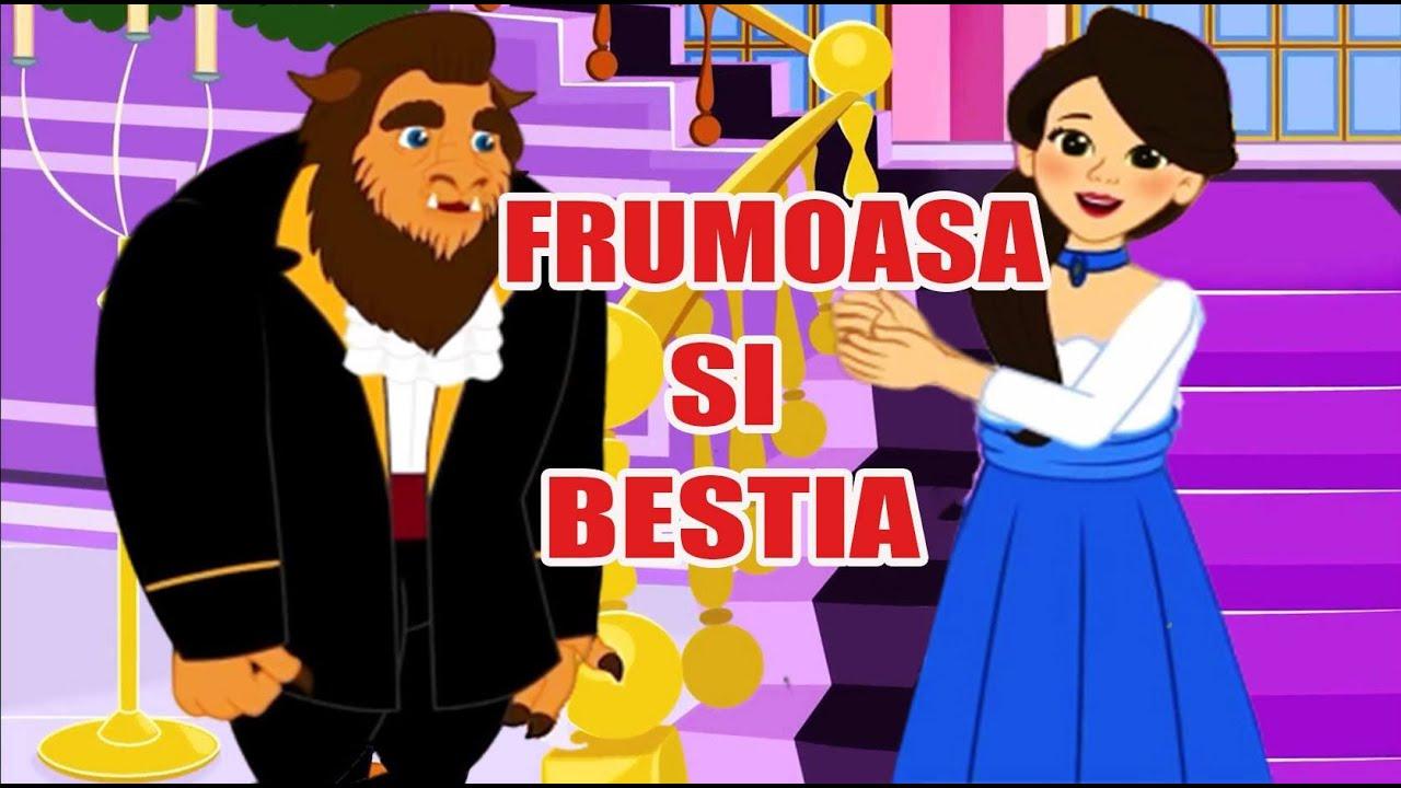 FRUMOASA SI BESTIA - POVESTI PENTRU COPII - BASME in LIMBA ROMANA