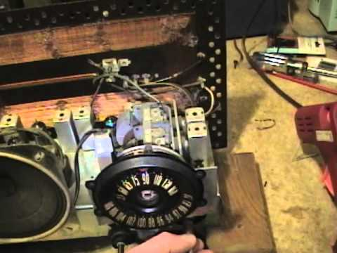 GE 212 radio restoration p6o7