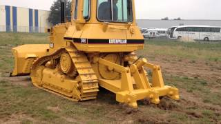 cat d4h 1994 3400 hours with ripper and 6 way blade complete new undercarriage part 2