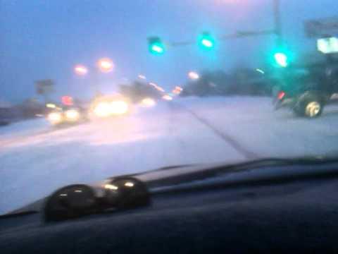 Garden City Ks, tormenta d nieve