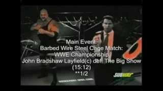 March to Mania Year 2 WWE No Way Out 2005 Review
