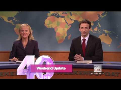 """Saturday Night Live"" 40: Weekend Update"
