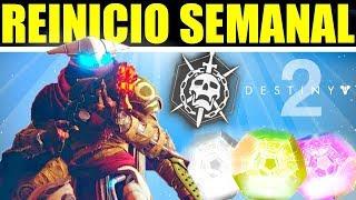 Destiny 2: Reinicio Semanal! - Nuevos Engramas Brillantes, Hazañas, Ocaso y vendedores