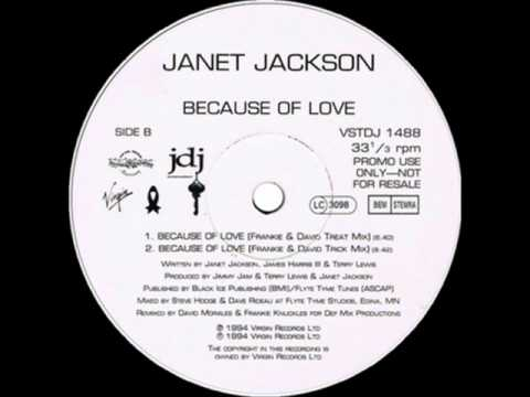 Because Of Love (Frankie & David Mix 12) - Janet Jackson