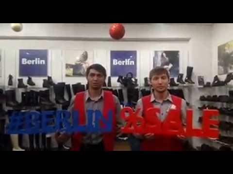 Приглашаем на распродажу в Салон Немецкой Обуви Berlin по адресу Уфа, пр.Октября, 129